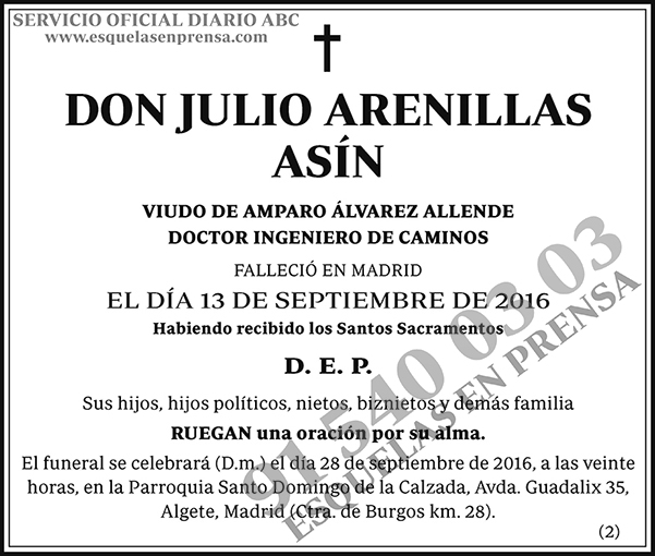 Julio Arenillas Asín
